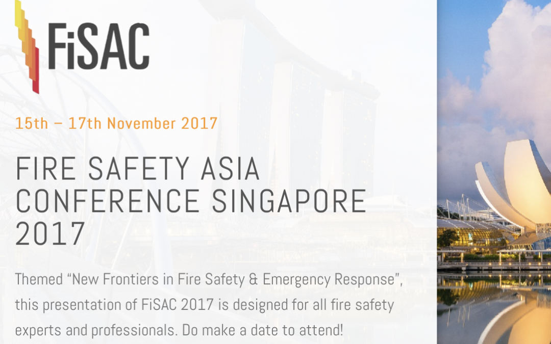 BLAZEMARK TO PRESENT AT FIRE SAFETY ASIA CONFERENCE SINGAPORE